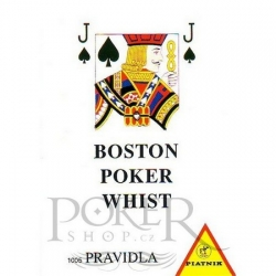 Pravidla her poker, whist, boston
