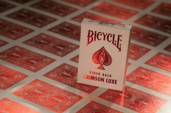 Hrací karty Bicycle MetalLuxe Crimson Luxe Playing Cards