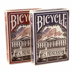 Bicycle US Presidents - Američtní prezidenti červené