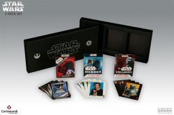 Carta Mundi Star Wars 3-pack: Heroes + Villains + Posters