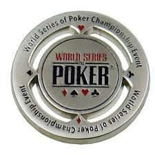 WSOP Card Protector dealer button