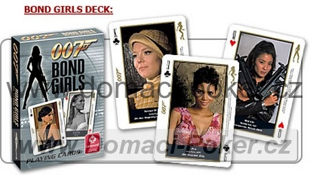 Carta Mundi - 007 Bond Girls