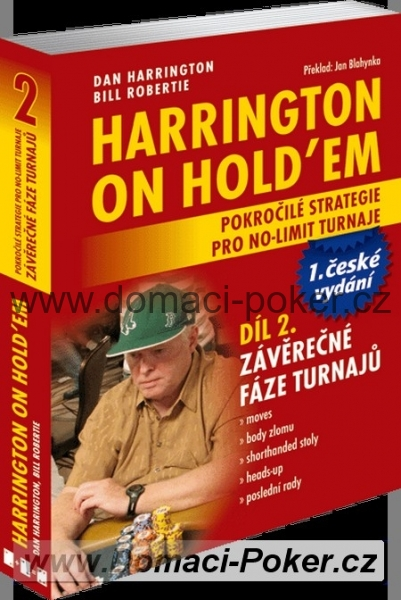 Dan Harrington: Harrington on Holdem 2 česky