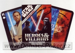 Carta Mundi Star Wars Heroes and Villains 11+1 zdarma